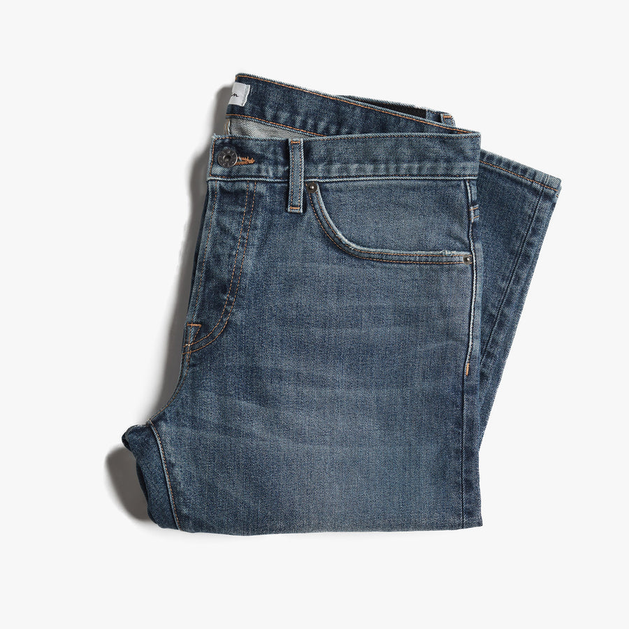J.D. Washed Blue Denim