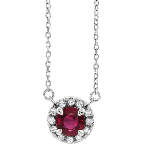 Halo-Style Necklace or Center