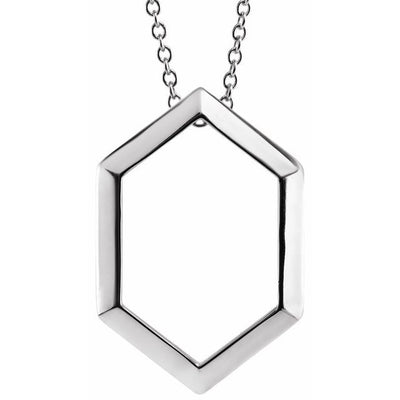 Geometric Necklace or Pendant