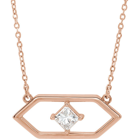 Geometric Gold Necklace