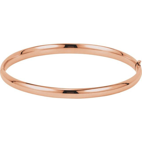 Hinged Bangle Bracelet 4.75 mm