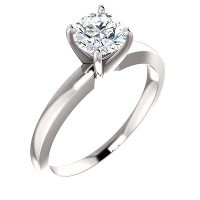 Lab-Grown Diamond Solitaire Engagement Ring