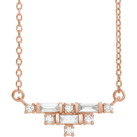 Accented Art Deco Necklace