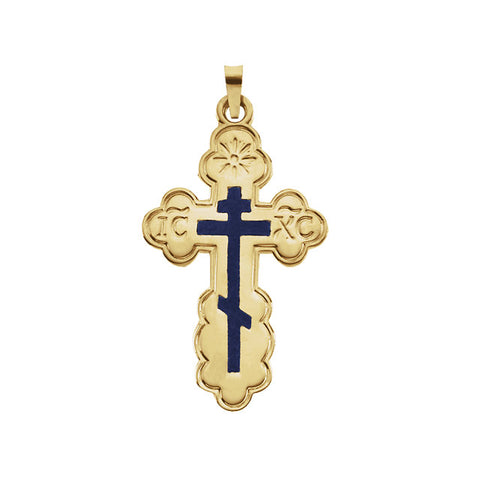Orthodox Cross Pendant