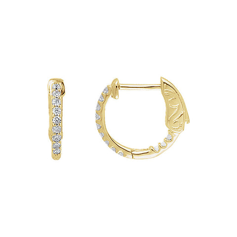 Inside/Outside Hoop Earrings