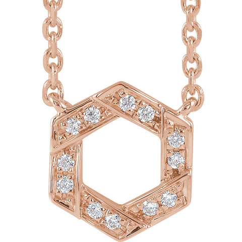 Accented Geometric Necklace