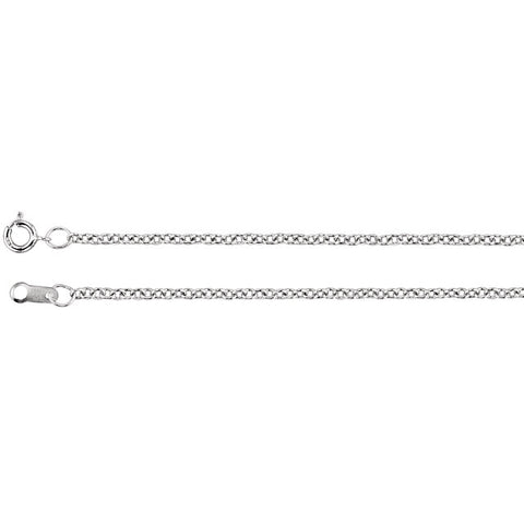 1.5 mm Solid Cable Chain