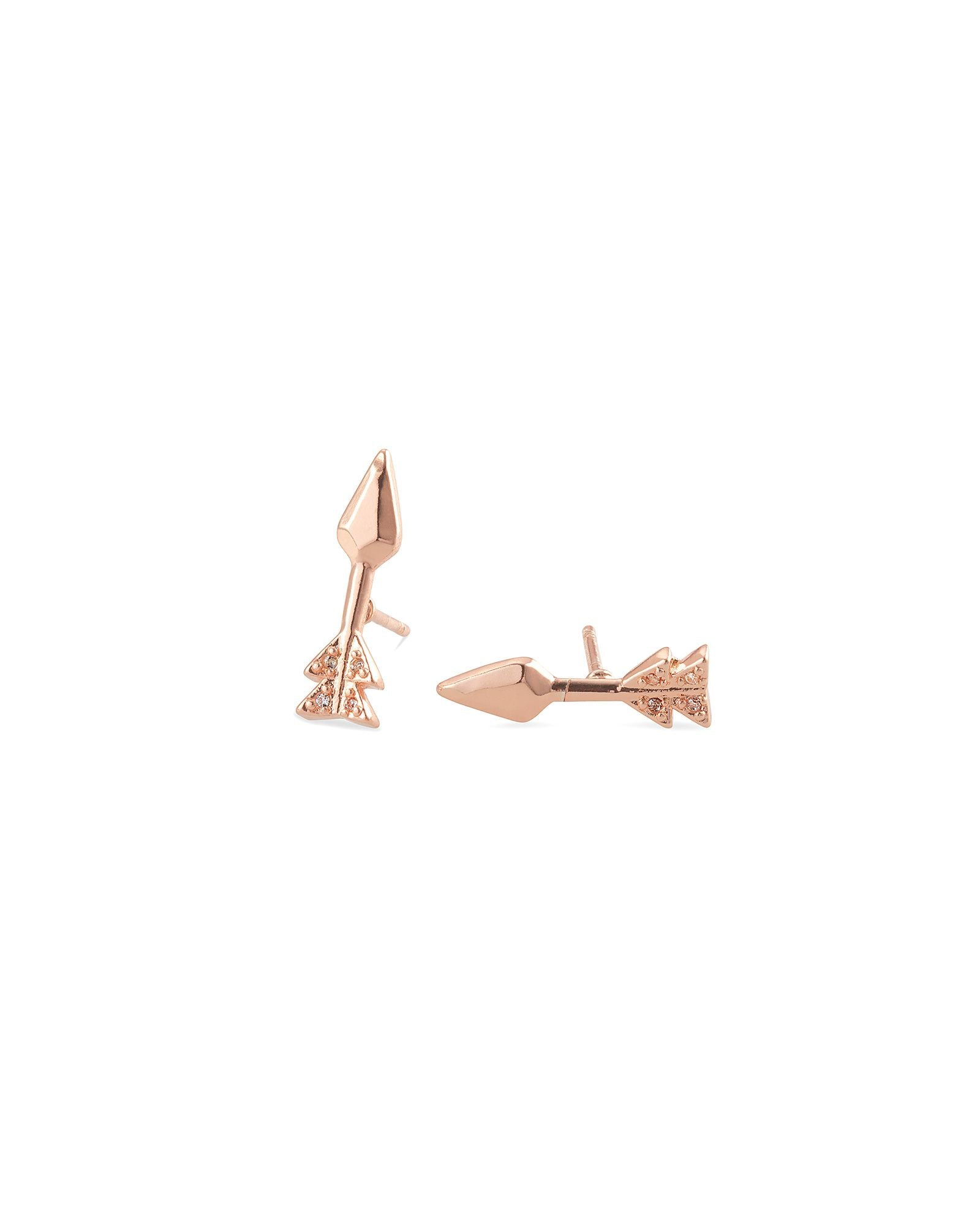 ZOEY ROSE GOLD STUD EARRING