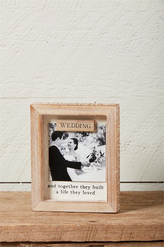 WEDDING MAGNET FRAME