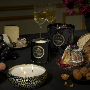 Crisp Champagne 3 Wick Tin Candle
