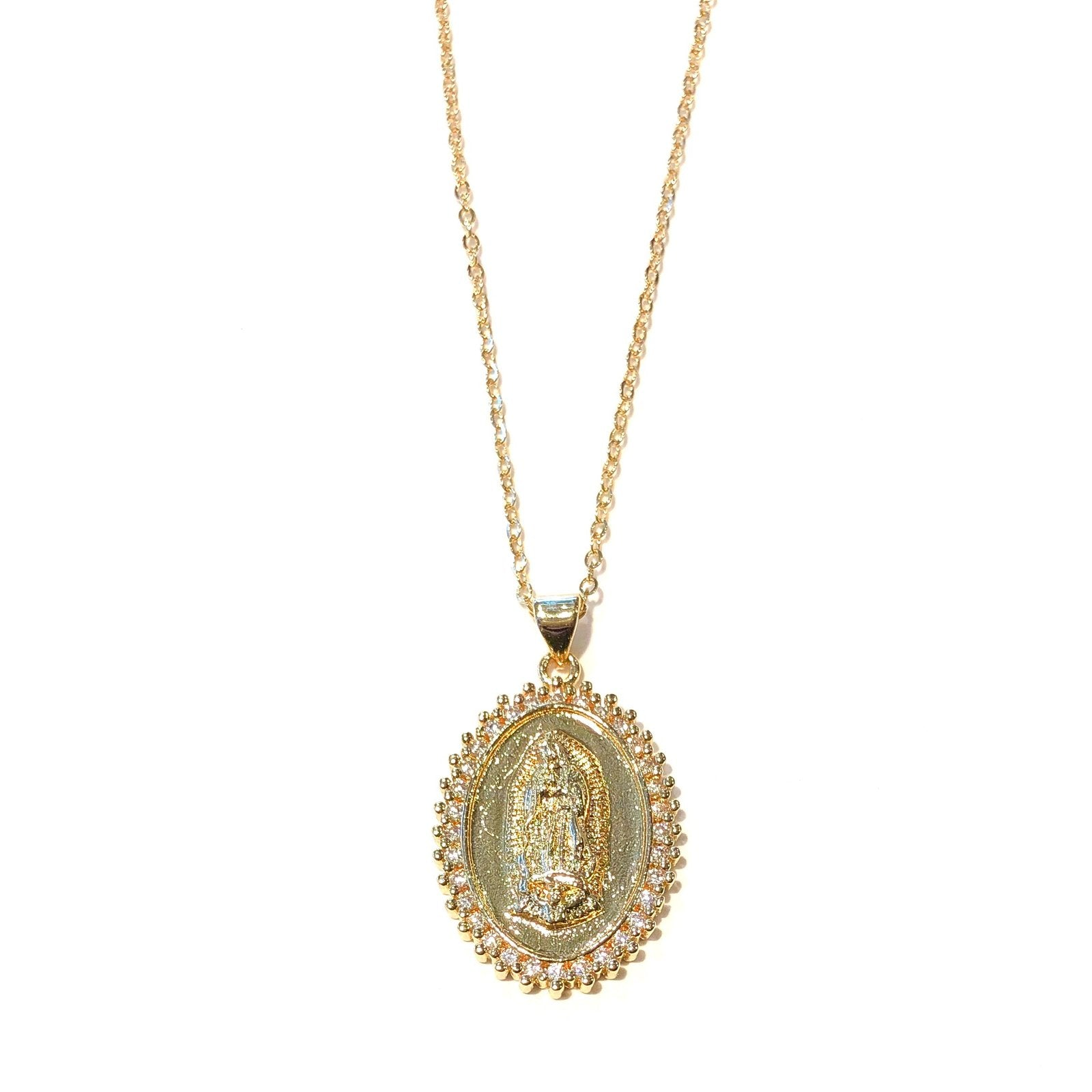 MIDLENGTH ST MARY NECKLACE