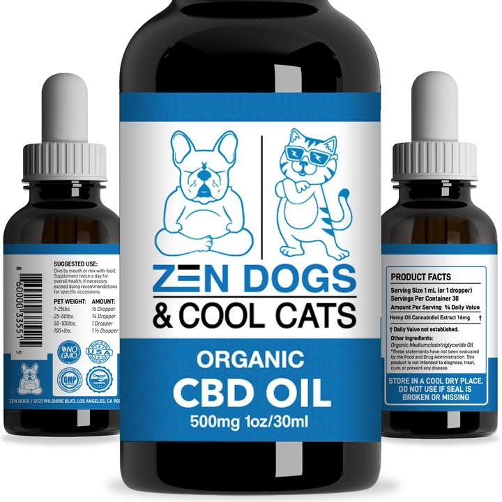 The Feature Product: Zen Dogs and Cool Cats CBD Oil