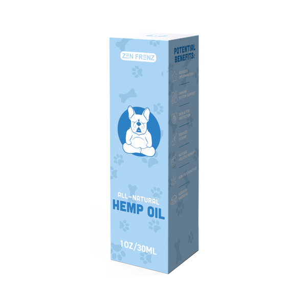 Organic Hemp Oil for Dogs & Cats
