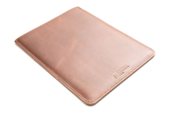 Brown Leather MacBook Air Sleeve | Mission Leather Co