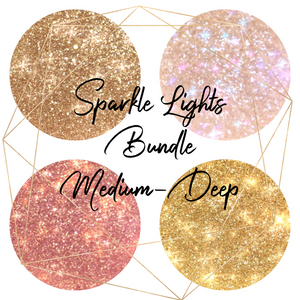 Sparkle Lights Bundle (Medium-Deep) - Love Luxe Beauty