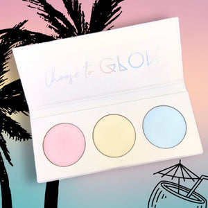 Highlighter Trio Palette - SO TROPICAL