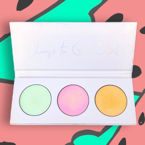 Highlighter Trio Palette - WATERMELON