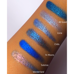 Pressed Pigment Eyeshadow (Sparkle) - ICICLE