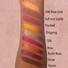 Pressed Pigment Eyeshadow (Foil) - 24K ROSE