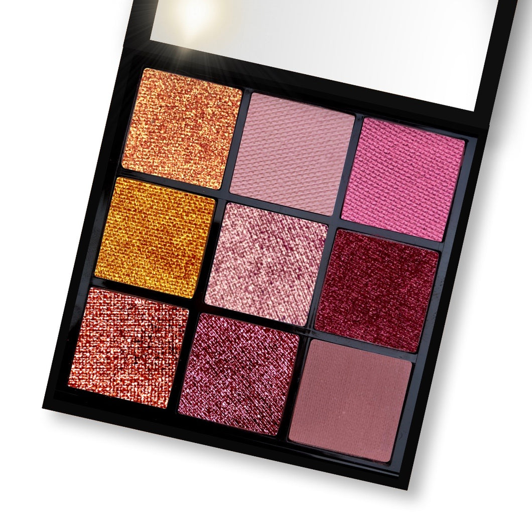 Eyeshadow Palette - FOILED ROSE