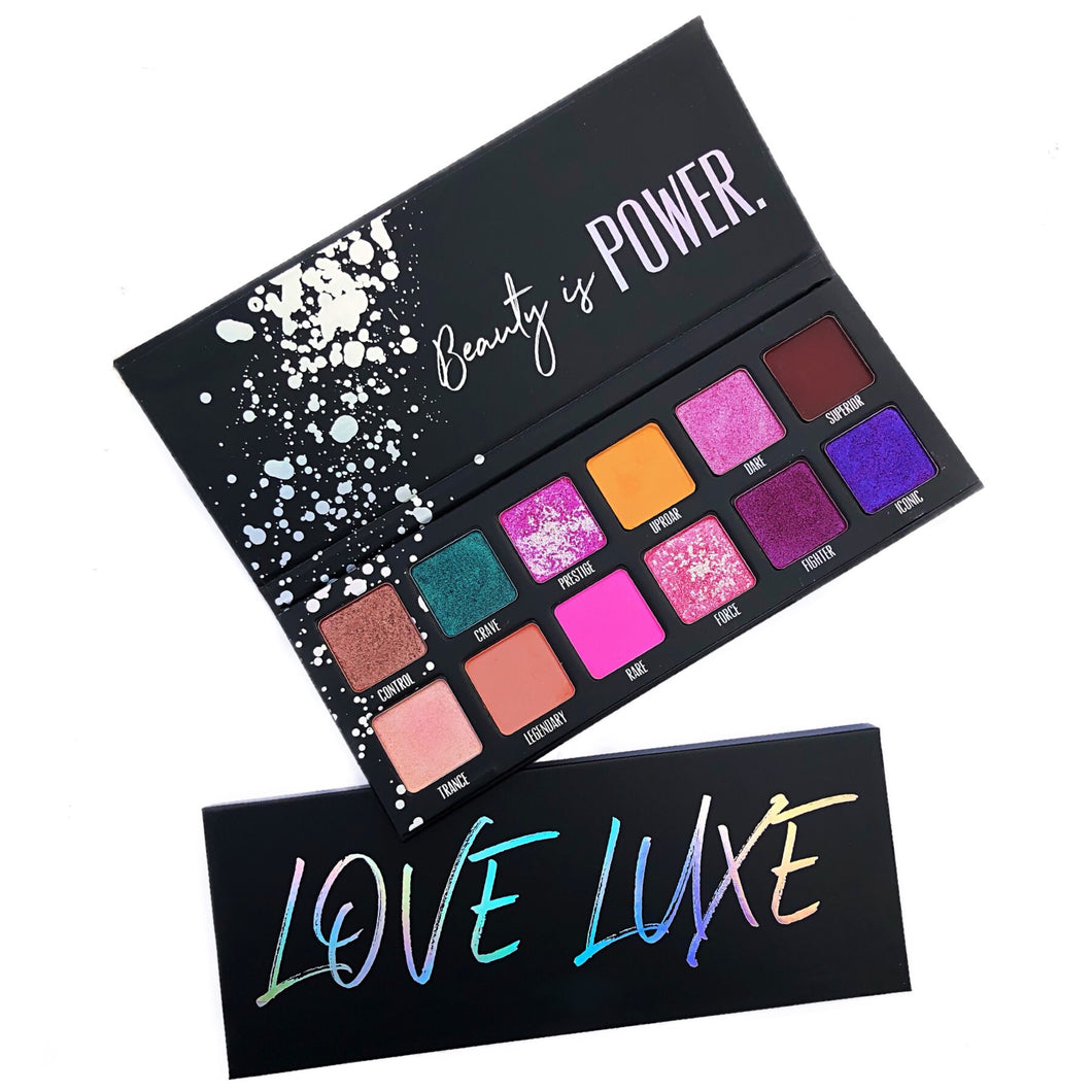 Love Luxe Powerful Eyeshadow Palette (Limited Edition)