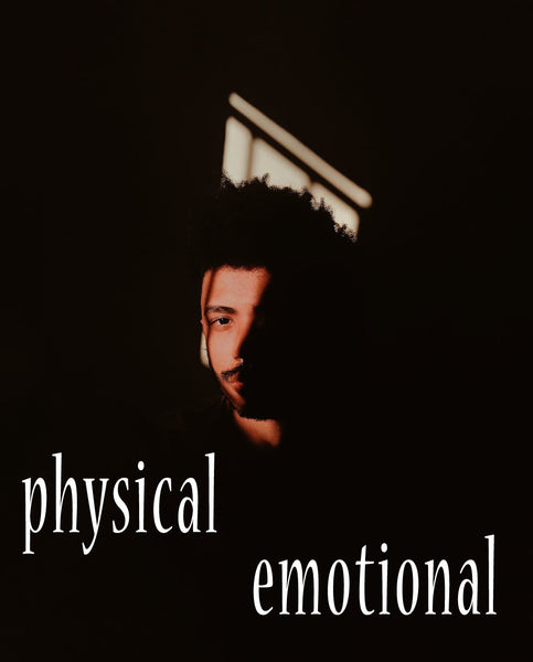 physical and emotional pains compared