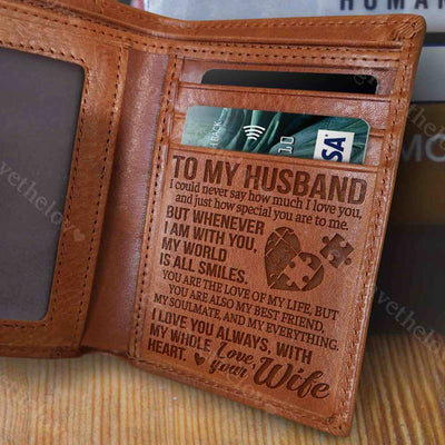 My World Is All Smiles - Wallet