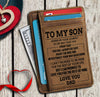 To My Son from Dad - Card Holder