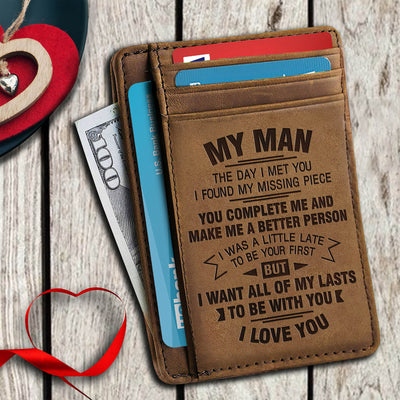 To Be With You - Card Holder