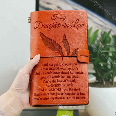 My Daughter-In-Heart - Notebook