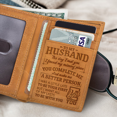 To Be With You - Trifold Wallet