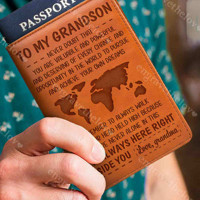 In The World - Passport Cover