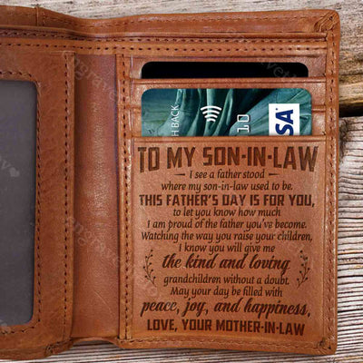 Father's Day Is For You - Wallet