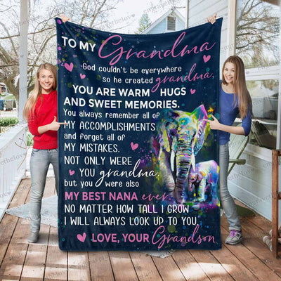 My Best Nana Ever - Blanket
