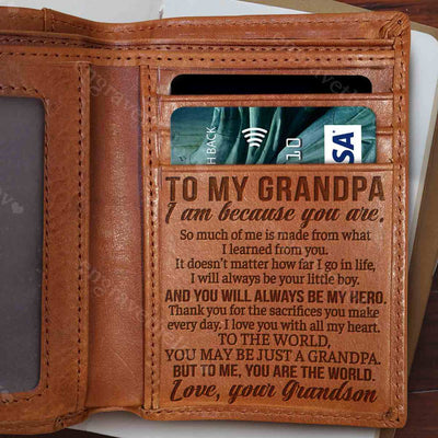 My Grandpa, My Hero - Wallet