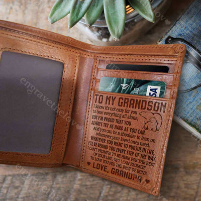 A Shoulder To Lean On - Wallet