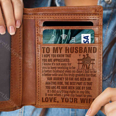 To Be A Better Wife - Wallet