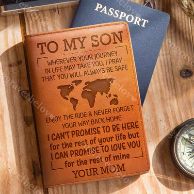 Always Be Safe - Passport Cover