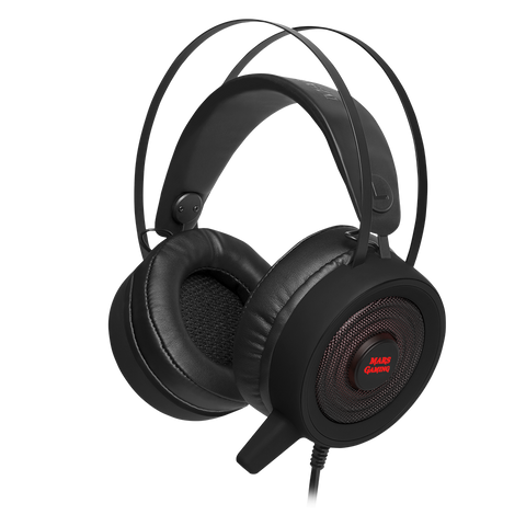Gaming Headset Mars Gaming MH318 - Gamer Garagen