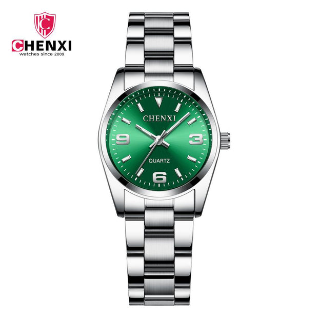 Green dial lady size