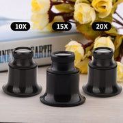 10 X /15x /20x Watch Eye Magnifier Loupe Repair Watch Jewelry Tool Magnifying Glass Loupe Lens Magnifier For Watchmaker