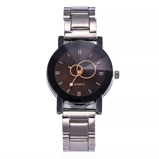 2018 Classic New Fashion Simple Life Quartz Bracelet Men And Women Couples Custom-made Quartz Women's Watch Zegarek Meski Clock