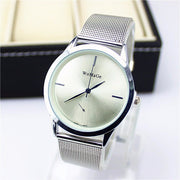 2018 Fashion Brand Womage Watch Women Luxury Dress Mesh Steel Watches Casual Ladies Quartz Rose Gold Female Man Lover Clocks