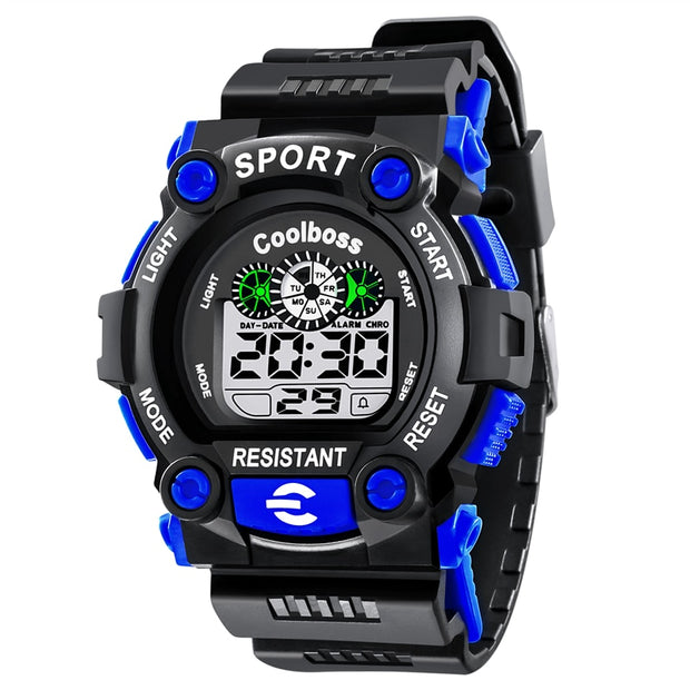 2018 Fashion Men Casual Sport Watch Digital Wristwatches LED Man Watches Waterproof Military Clock Gift Relogio Masculino