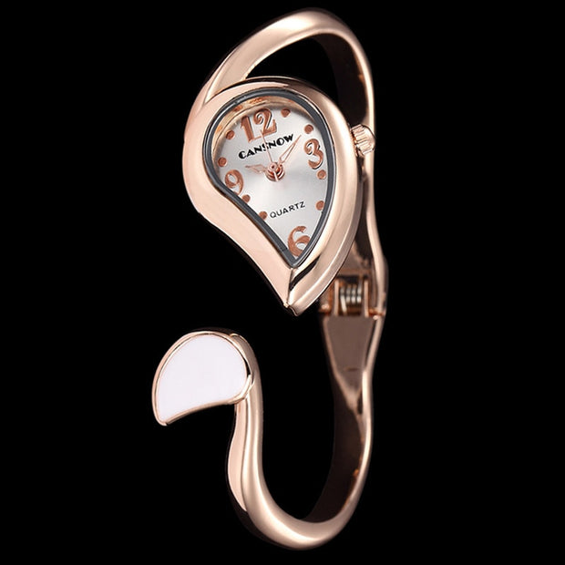2018 New Elegant Ladies Bracelet Watch Women New Arrival Gold & Silver Strap Simple Design Casual Wrist Quartz Watch Female Time