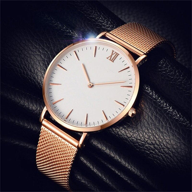 2018 Ultra Thin Fashion Male Wristwatch Top Brand Luxury Business Watches Waterproof Scratch-resistant Men Watch Clock
