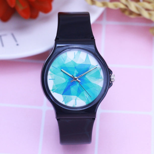2018 Women Men Girls Boys Simple Luminous Hands Quartz Watches Students Resin Electronic Fashion Casual Relog Mujer Watches