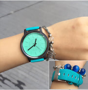 2019 Fashion Women Watches Classic Simple Style Top Famous Luxury Brand Quartz Watch Women Colorful Casual Clock Reloj Mujer