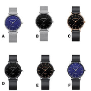 2019 Luxury Man Quartz Sport Army Watches Men's Military Stainless Steel Dial Leather Band Wrist Watch Wholesale Montre Homme