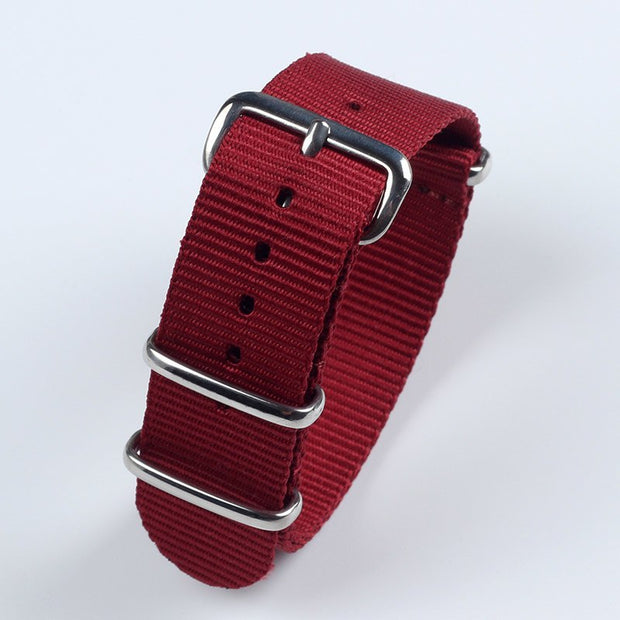 Red silver clasp